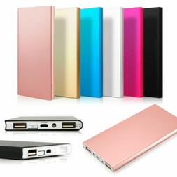 10 Ultra Thin 8000mAh Portable External Battery Charger Powe