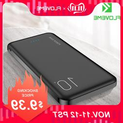 FLOVEME 10000mAh <font><b>Power</b></font> <font><b>Bank</b>