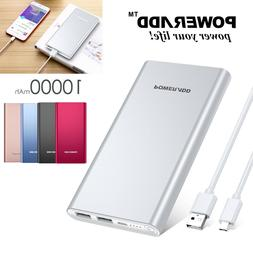 Poweradd 10000mAh Mobile Power Bank Portable Charger Externa