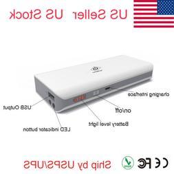10000mAh Portable External USB Power Bank Box Battery Charge