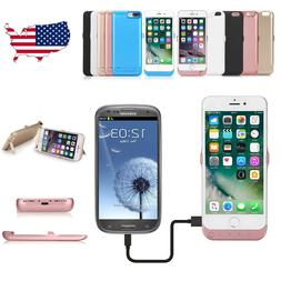 10000mAh Rechargeable Battery Portable Charger Case Cover Fo