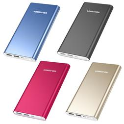 Poweradd 10000mAh 2 USB Power Bank Portable External Battery
