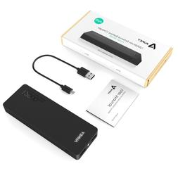AUKEY 12000mAh Portable Charger, 4.8A Dual Port Output with