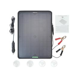 18V 10W Portable Solar Panel Power Battery Charger Backup fo