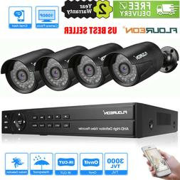 Home Security System 8CH 1080P 1080N AHD DVR+4XOutdoor Camer