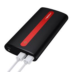 Aibocn 20000mAh Power Bank Portable Dual USB Charger Externa