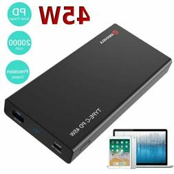 20000mah pd 45w portable power bank charger