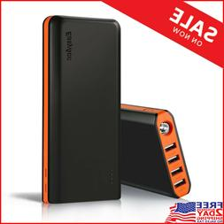 EasyAcc 20000mAh Portable Charger Fast Recharge External Bat