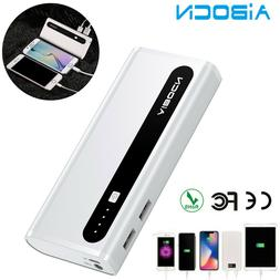 10000mAh Power Bank Dual USB Portable Charger External For i