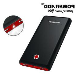 20000mAh Power Bank External Battery Portable Charger For iP