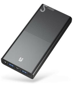 20000mAh Power Bank Quick Charger Lightweight Portable Charg