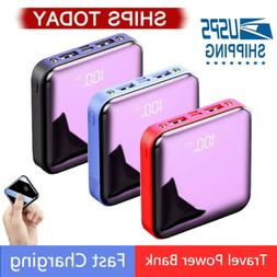 20000mAh Power Bank UltraThin USB Portable External Battery