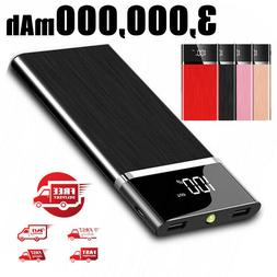 2021 New Power Bank 3,000,000mAh Portable External Battery H