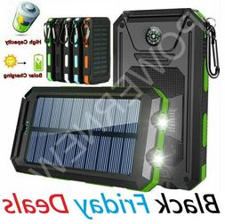 2021 Super 3000000mAh USB Portable Charger Solar Power Bank