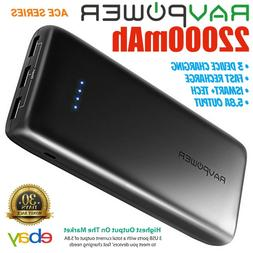 RAVPower 22000mAh External Battery Power Bank Portable Charg
