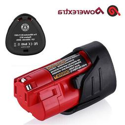 2500mAh Li-ion Battery For Milwaukee M12 48-11-2420 48-11-24