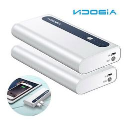 2Pack Dual USB 10000mAh Power Bank Portable Charger External