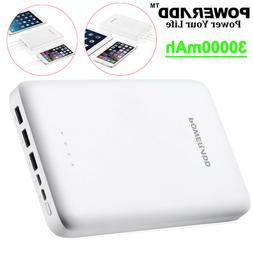 Poweradd 30000mAh Pilot Pro3 Power Bank 3-Port USB Portable