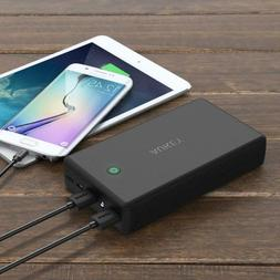 AUKEY 30000mAh Power Bank, 4.8A Dual-USB Output Portable Cha