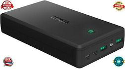 AUKEY 30000mAh Power Bank Portable Charge with 4.8A Dual-USB