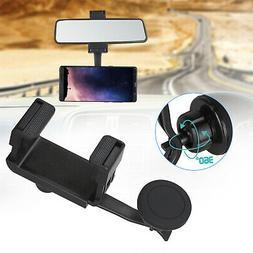 360 universal car rearview mirror mount stand