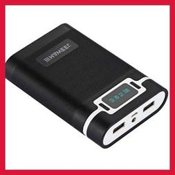 4 X 18650 Charger Box Portable Power Bank & Battery W 2 USB