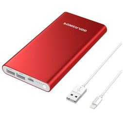 POWERADD 4GS Portable Charger 12000mAh Dual 3A iPhone and Ot