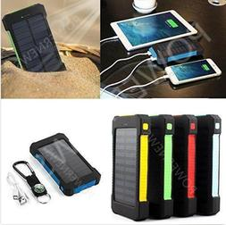 900000mAh Dual USB Portable Solar Battery Charger Solar Powe
