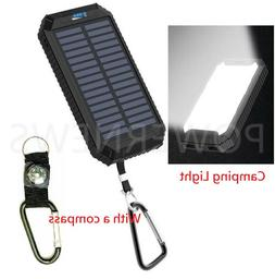 500000mAh Waterproof Dual USB Portable Solar Battery Charger