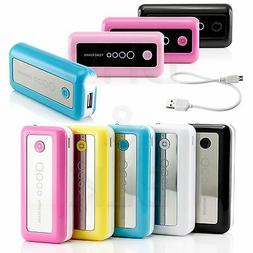 5600mAh Portable External Battery USB Charger Power Bank for