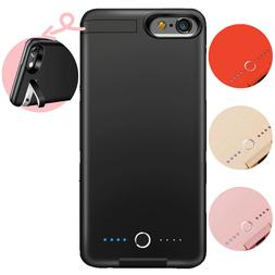 8000mAh Battery Charger Charging Case Power Bank Cover For i