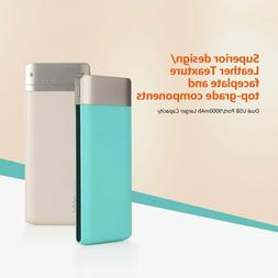 9000mAh Power Bank External Battery Portable Fast Charger Fo