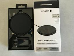 Mophie 10W Qi Fast Charge Stream Pad+  Wireless Charger - Bl