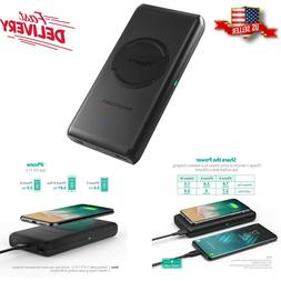 Wireless Portable Charger 10400mAh RAVPower 10W Qi-Enabled D