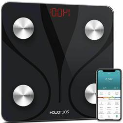 Lumsing 400lb LCD Digital Bathroom Body Weight Scale Tempere