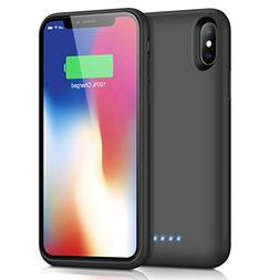 Battery Case for iPhone X/Xs,  Xooparc Protective Portable C