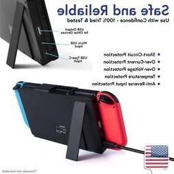Black Portable 10000mAh Charger Power Bank Case w/Stand for