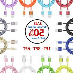 Charger Cable for iPhone XR XS Max X 8 7 6S 6 Plus SE iPad A
