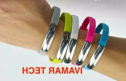charger Cable New style Portable wrist Bracelet sync chargin