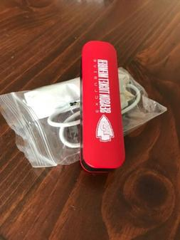"""Chiefs """"season ticket holder"""" edition portable charger w/ ch"""