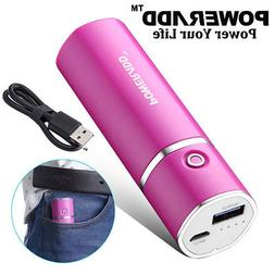 Poweradd Slim 2 5000mAh Power Bank Portable Charger USB Exte