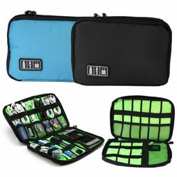 Earphone Cable USB Charger Cord Organizer Bag Travel Storage