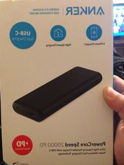 Factory Sealed New Anker PowerCore Speed 20000 PD Portable C