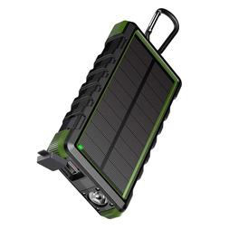 <font><b>EasyAcc</b></font> Solar Power Bank Waterproof 2400