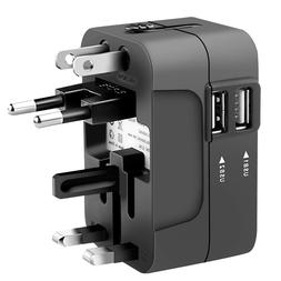 <font><b>Portable</b></font> Universal Travel Power Adapter