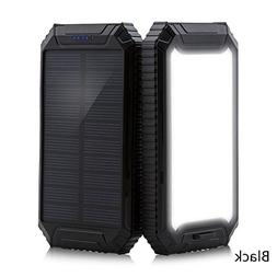 iMeshbean Portable 300000mAh Solar Power Battery Bank Dual U