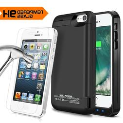 iPhone 5/5S/5C/SE Battery Case Power Bank Portable Charger C