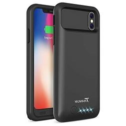 iPhone X Battery Case, Trianium Atomic Pro 4000mAh Portable