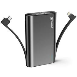 Jackery Bolt 10050Mah Power Bank, Portable Charger With Buil
