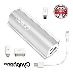 Cynphon JS-2400-SL USB Power Bank Charger for Smaprtphones -